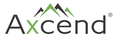 The primary logo for Axcend, a provider of innovative, compact nanoflow liquid chromatography (LC) systems that deliver dramatic improvements in portability, ease of operation, rapid and convenient deployment, and coupling to other analytical systems (such as mass spectrometry). For more information, visit www.AxcendCorp.com or call 801-376-9088. (PRNewsfoto/Axcend)
