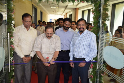 Mr. V J Kurian, Managing Director, Cochin International Airport Inaugurates Marlabs Innovation Studio (lab) (PRNewsfoto/Marlabs Innovations)