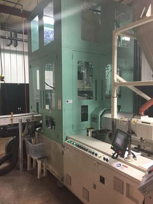 Apex Plastics new Aoki 250LL-50S Injection Blow Molding Machine