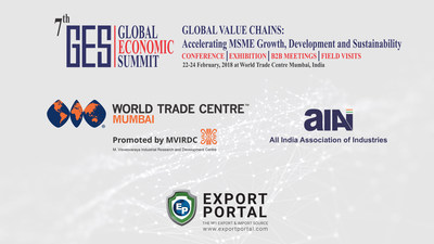 Blockchain Enabled ExportPortal.com Attends World Trade Centre Mumbai Global Economic Summit and GTR India Trade and Treasury Conference To Announce 2018 100 Country Tour and Launch Export Portal Investor site: EC-B2B.com