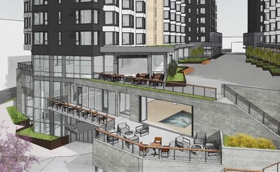 Slated To Open In 2019 The Cambria Hotel Bremerton Island Will Feature A Rooftop Deck With 180 Degree Views Of Puget Sound Multi Function Meeting