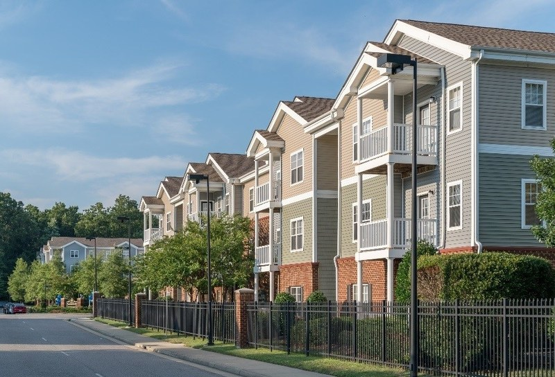 Multi Family Property Development : Multifamily property in newport news virginia receives