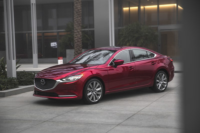 2018 Mazda6 (CNW Group/Mazda Canada Inc.)