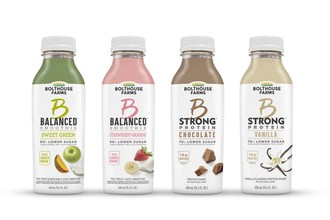 "Bolthouse Farms Delivers Lower Sugar and More Protein with New ""B"" Beverages"