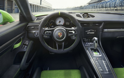 Porsche introduced its most powerful luxury auto with aspirated engine