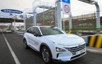 Hyundai's Next-Generation Fuel Cell Vehicle NEXO Boasts World's Best Driving Range