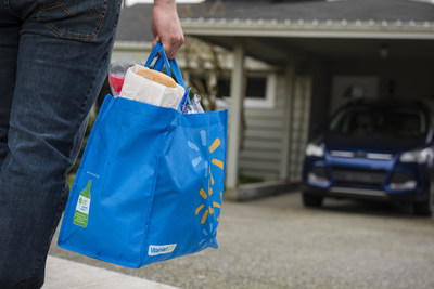 Walmart Canada collaborates with Food-X to bring sustainable grocery delivery to Vancouver-area customers (CNW Group/Walmart Canada)