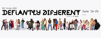 """NYC Pride Releases 2018 """"Defiantly Different"""" Theme"""