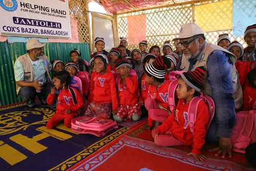 HHRD supports 500 children including Rohingya Refugees at two Childcare Centers in Cox's Bazaar