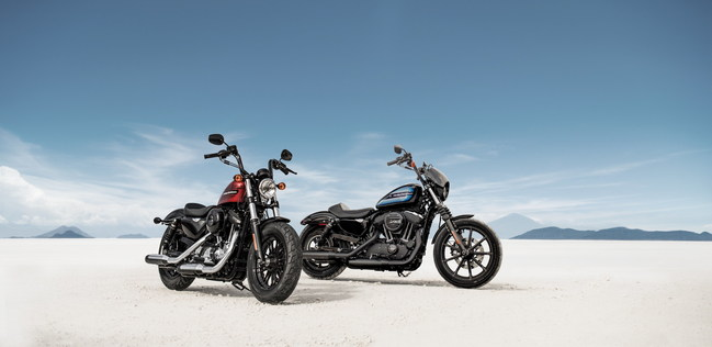 The new Harley-Davidson® Iron 1200™ and Forty-Eight® Special motorcycles began with inspiration from our customers - reflecting what is happening in customization on the streets. Each motorcycle features a powerful 1200cc engine and brings back a sense of 70s soul that only H-D can bring.