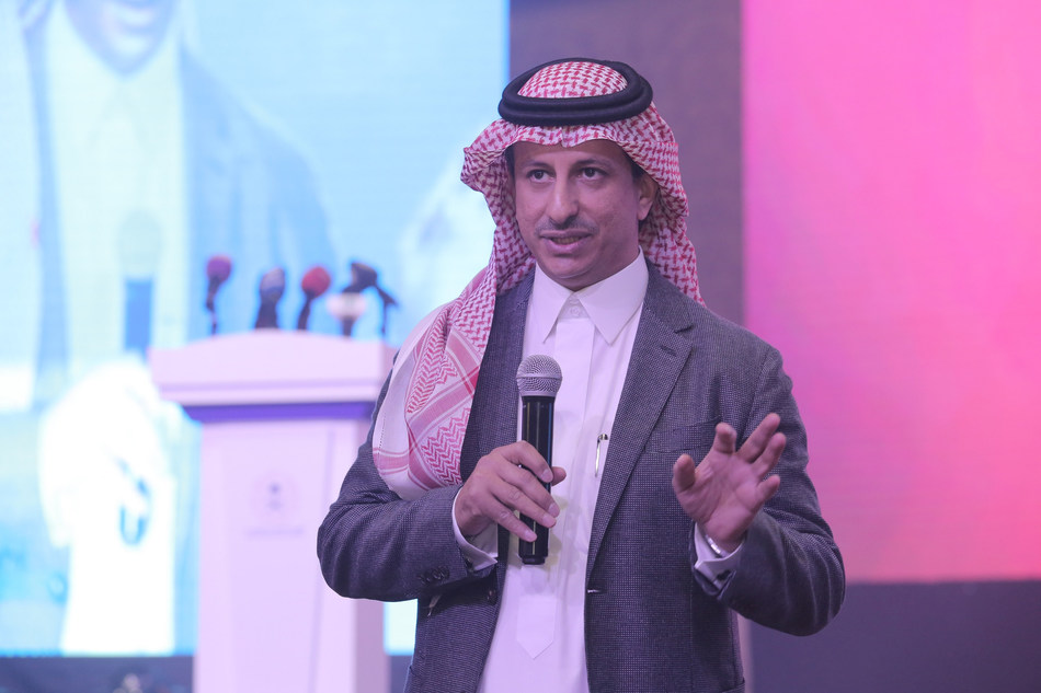 His Excellency Ahmed Al Khatib, Chairman of the Board, General Entertainment Authority, launching the 2018 Entertainment Calendar. (PRNewsfoto/General Entertainment Authority)