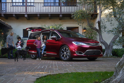 Drivers are invited to test drive the refreshed Chrysler Pacifica at Peppers Automotive.