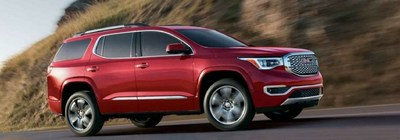 The 2018 GMC Acadia is available across numerous trim levels.