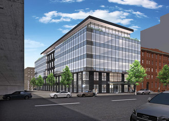 Rendering of New Construction at 330 East 62nd Street NY, NY