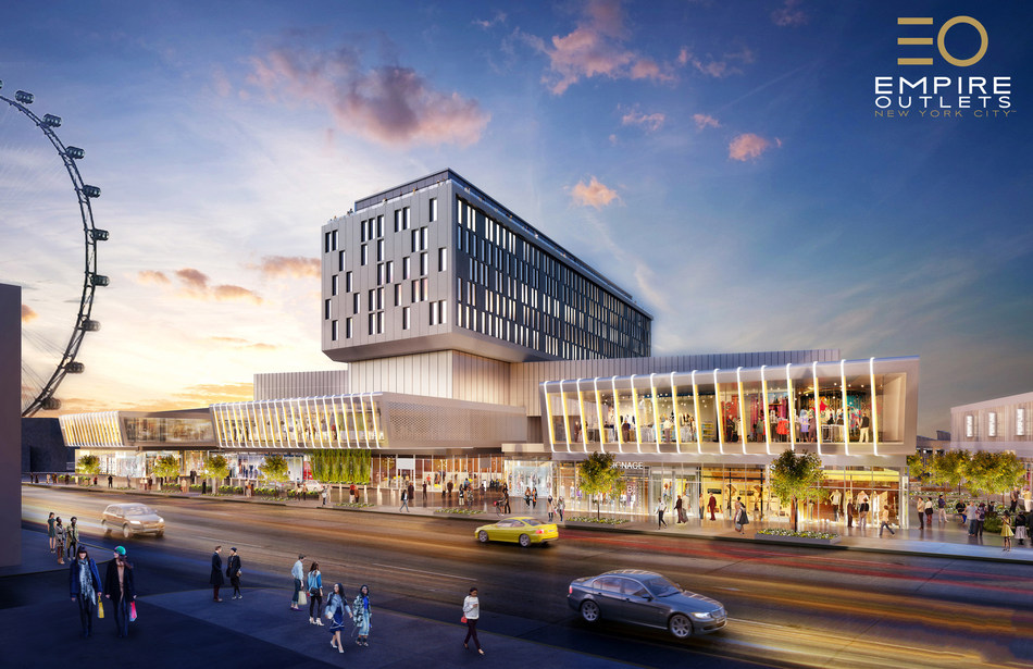 Empire Outlets is New York City's first and only retail outlet center, transforming Staten Island's North Shore into an incredible shopping and dining destination for millions of visitors from across the world.