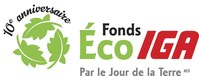 Logo: Fonds Éco IGA (CNW Group/IGA)