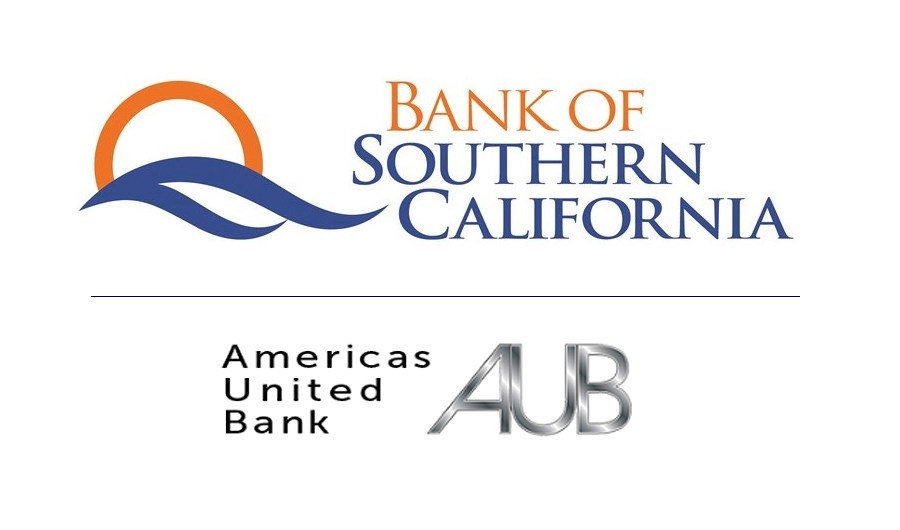 Bank of Southern California and Americas United Bank Announce Agreement to Merge