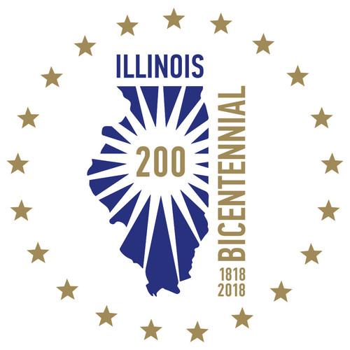 Illinois Bicentennial Logo