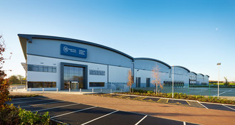 TVS Supply Chain Solutions brand new state of the art warehouse at Banbury (PRNewsfoto/TVS Supply Chain Solutions)