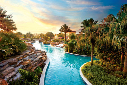 Visitors can find amazing deals for Spring Break in Orlando, like 25 percent off accommodations at Holiday Inn Club Vacations at Orange Lake Resort, pictured here.