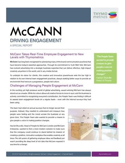 McCann Special Report