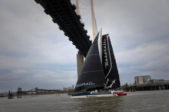 Maserati Multi 70 is the New Holder of the Hong Kong-London Sailing Record