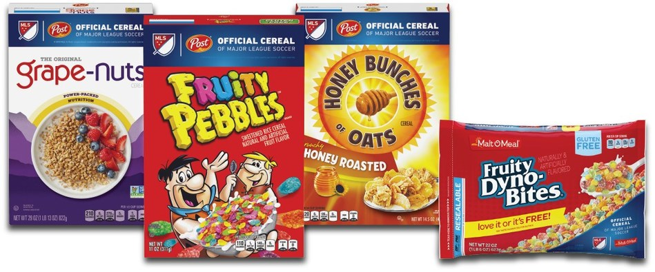 Post Consumer Brands will be the exclusive cereal sponsor of the 2018 MLS season.