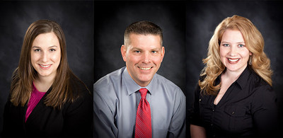 Amy Proctor, Vice President of Design Solutions; Greg Massey, Vice President of Trinity Logistics' Agent Division; Hayley Dobson, Vice President of Team Operations