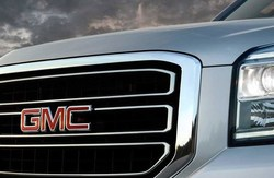 Logo for GMC, which Coast to Coast Motors recently highlighted on its website.