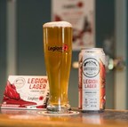 Legion Lager now in British Columbia (CNW Group/The Royal Canadian Legion Dominion Command)