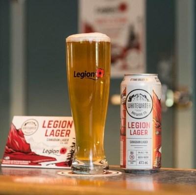 Legion Lager : maintenant en Colombie-Britannique (Groupe CNW/Légion royale canadienne)