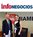 InfoNegocios Miami entrevistó al periodista Marcelo Longobardi en su visita a los estudios de CNN en Español en Estados Unidos