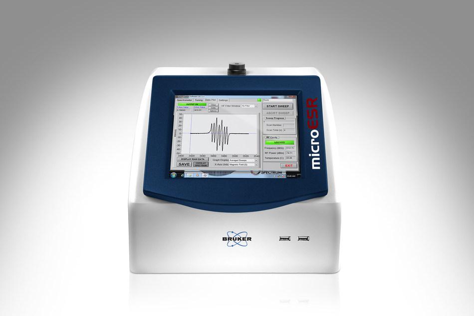 Bruker's benchtop EPR system microESR