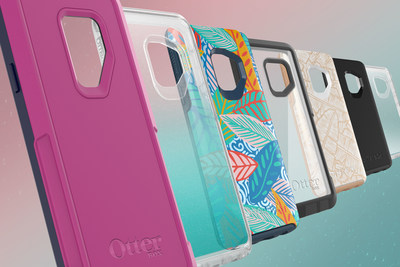 OtterBox proudly offers its full lineup for Galaxy S9 and Galaxy S9+ with Pursuit Series, Symmetry Series, Defender Series, Commuter Series and Strada Series Folio cases as well as Alpha Glass screen guards.