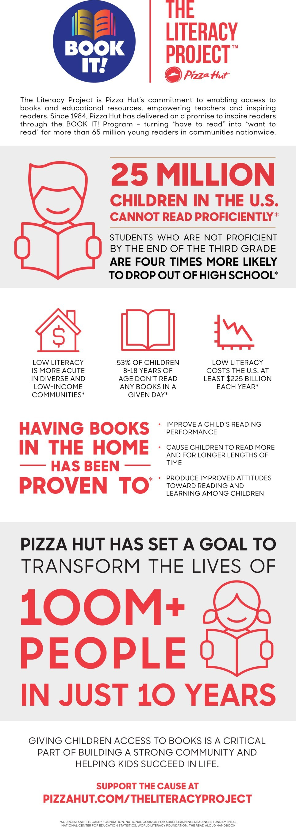 The Literacy Project Infographic