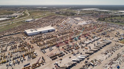 Ritchie Bros. sells 12,500+ equipment items and trucks for US$278+ million in Orlando, FL (Feb. 19 - 24, 2018) (CNW Group/Ritchie Bros. Auctioneers)