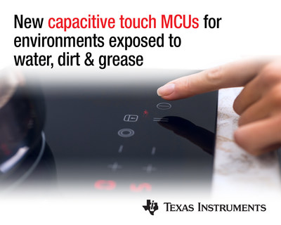 New MSP430™ microcontrollers with CapTIvate™ technology offer value and performance to applications exposed to electromagnetic disturbances, oil, water and grease.