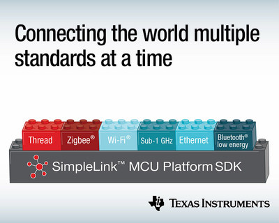 New TI SimpleLink™ MCU platform devices offer advanced integration for concurrent multi-standard and multi-band connectivity.