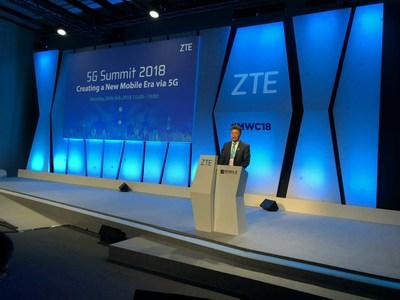 ZTE and GSMA Co-host 5G Summit 2018