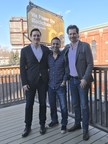 CryptoGlobal to acquire BitCity Group. Pictured from left to right: BitCity Group CEO Brandon Keks, CryptoGlobal CEO Rob Segal and CryptoGlobal President James Millership. (CNW Group/CryptoGlobal Corp.)