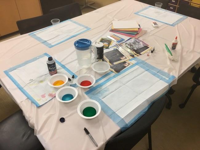 TEACH Salt Painting Module