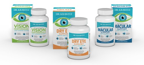 Dr. Krawitz Professional Eye Care has a formidable triad of quality professional ocular supplements favored by doctors and patients.