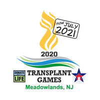 Official 2020 Transplant Games of America logo