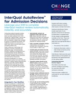 InterQual AutoReview Fact Sheet