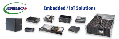 Supermicro Embedded/IoT Solutions