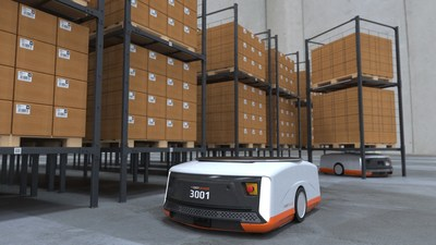 The new Butler XL handles payloads of up to 1600 kgs (3500 lbs).