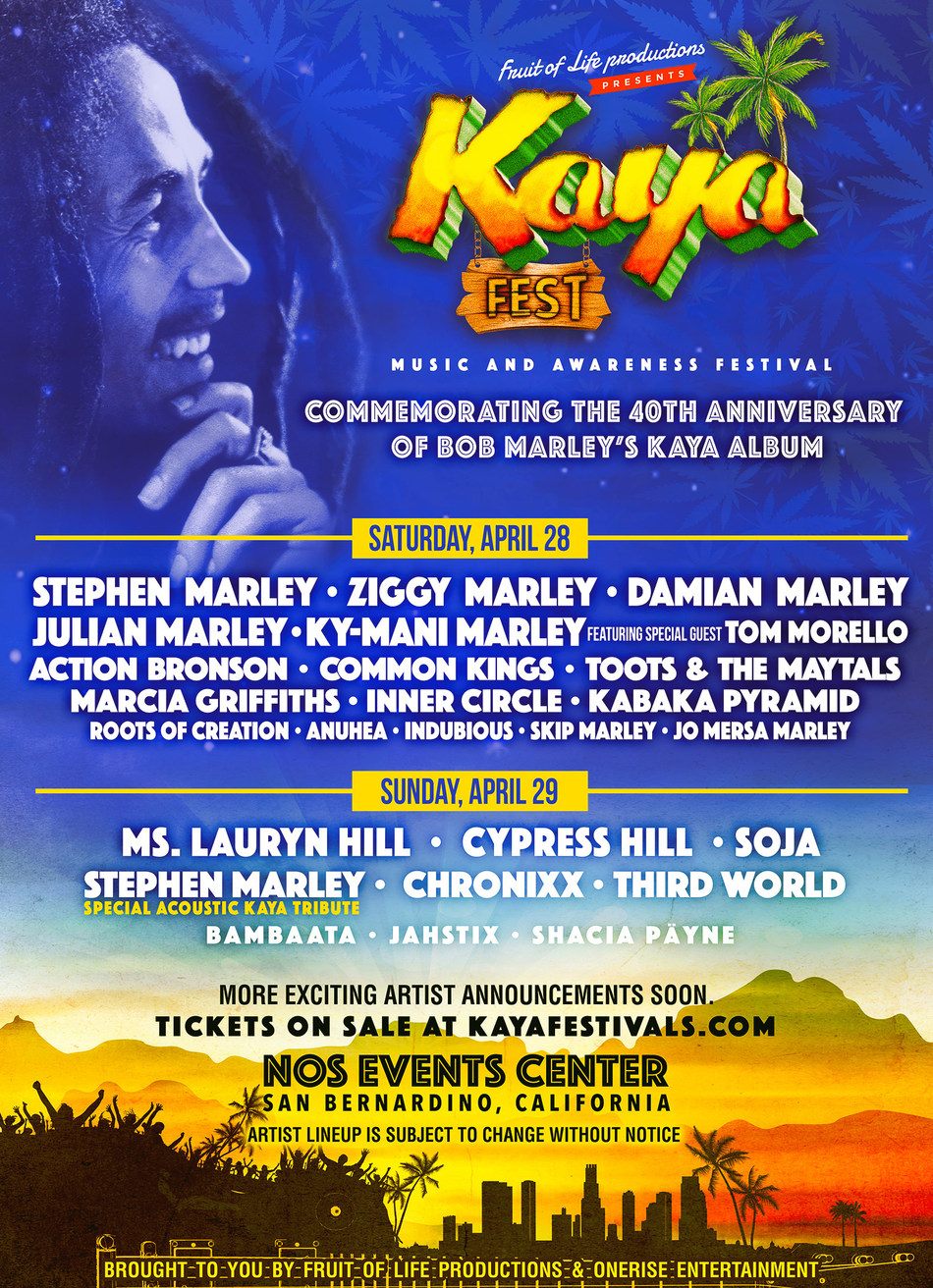 Kaya Fest Line-up