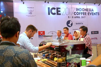 Coffee Events (ICE) at Food, Hotel & Tourism Bali