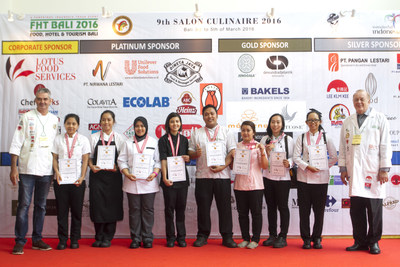 Salon Culinary Competition at Food, Hotel & Tourism Bali