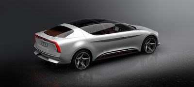 Concept car unveiled by GFG Style and Envision